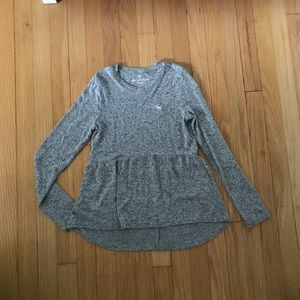 Abercrombie kids peplum top